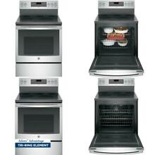 Adora 5 3 cu  ft  Electric Range with Self Cleaning Convection Oven in Stainless