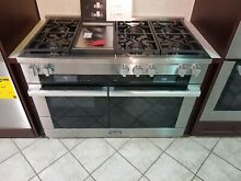 Miele M Touch Series HR1956DFGD48 Inch Pro Style Dual Fuel Range