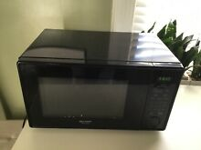 SHARP R309YK   1 1 Cu  Ft  Mid Size 1000 Watts Black MICROWAVE  WORKS PERFECTLY