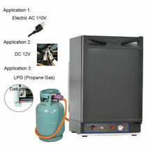 Smad 1 5 Cu ft 3 Way Propane Gas Fridge DC 12V Gas RV Truck Camper Refrigerator