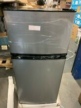 Insignia 4 3 Cu  Ft  Top Freezer Refrigerator   Stainless Steel NS CF43SS9 READ