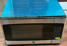 GE  JES1145SHSS 1 1 Cu  Ft  Mid Size Microwave   Stainless steel READ   1