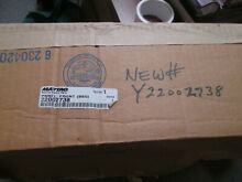 Whirlpool Washing Machine Front Panel Bisque 22002738  Replacement For Y22002738