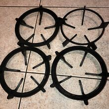 Thermador gas range Iron grate Set  set of 4    Used
