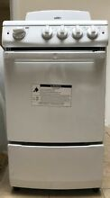 Summit RE201W 20 Inch Freestanding Electric Range 4 Coil Elements