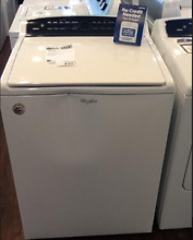 New Open Box Whirlpool  Cabrio  Top Load Washer White WTW7000DW