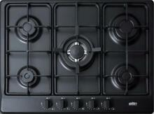 Summit GC5272B 27   Gas Cooktop Built In 5 Sealed Burners In Black