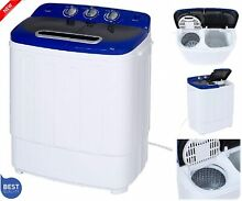Washer 33L Combo 16L Dryer Compact Mini Portable Electric Washing Machine w Hose