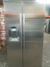 Samsung RS22HDHPNSR AA 22 cu  ft  Side By Side Refrigerator   Stainless Steel