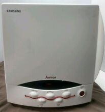 Samsung SJ0390W Junior Ultra Compact Mini Microwave Oven White  Small Microwave