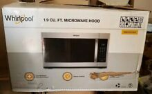 Whirlpool WMH32519HZ 1 9 Cu Ft  Microwave HOOD AS IS FOR PARTS ONLY