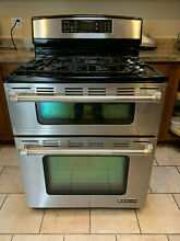 Jenn Air JGR8890 30  Freestanding Gas Double Oven Range w   Convection BEAUTIFUL