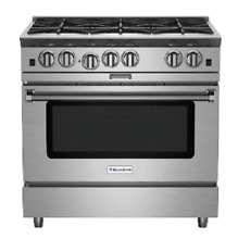 Blue Star BSP366BL 36  Stainless Steel LP Range