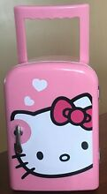 Hello Kitty Personal Thermoelectric Mini Fridge Warms and Cools Pink With Handle