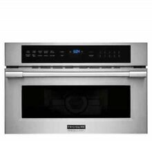 Frigidaire Pro Stainless 30  Built In Convection Microwave Oven  FPMO3077TF