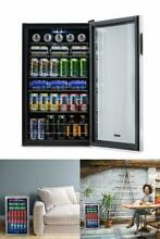 Mini Fridge Glass Door Outdoor Beverage Chiller Best Rated Refrigerator 126 Can