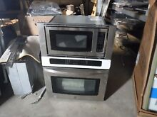 Kenmore 49613 30   Electric Combination Wall Oven Stainless Steel