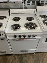 Brown 24 inch stove oven range electric
