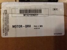 W10439651 WHIRLPOOL TRASH COMPACTOR DRIVE MOTOR  NEW PART