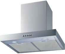 Range Hood Convertible Wall Mount Aluminum Mesh Filters Stainless Steel 30 inch