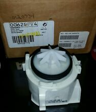 Genuine Bosch OEM 00620774 Dishwasher Drain Pump