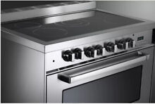 Verona VEFSEE365SS 36  5 Burner Electric Range   Stainless Steel