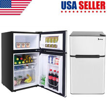 ZOKOP AC115V 60Hz 90L 3 2CU FT Household Refrigerator Double Doors US STOCK