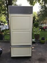 Sub Zero 650f Stainless Refrigeratoe 7 Ft Tall 36 In  Wide Excellent In C T