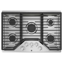 GE 30 in  Gas Cooktop in Stainless Steel with 5 Burners JGP5030SLSS