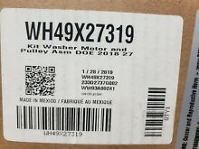 Genuine GE Part   WH49X27319  WASHER DRYER COMBO MOTOR KIT