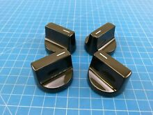 Genuine Whirlpool Electric Oven Control Knob W11022718 W10850010 Set of 4