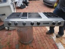 Jenn Air Triple Bay Conventional Gas Prostyle Grill Cooktop Model CVG4380P