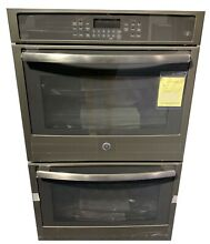30  Slate Electric Double Wall Oven
