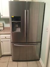 Pre owned Samsung RF28HFEDTSR Stainless Steel Refrigerator