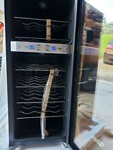 EdgeStar TWR215E  13  Wide 21 Bottle Wine Cooler with Dual Cooling Zones