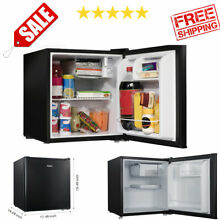 Mini Fridge Refrigerator Freezer Dorm Room Small Office Bedroom Compact RV Van