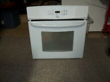 KENMORE WHITE BUILT IN SINGLE WALL OVEN LIKE NEW LOCAL PICK UP