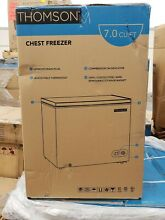 NEW Curtis Intl  Thomson White Compact Chest Freezer 7 0 CU FT TFRF710 SM