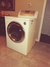 Gas Dryer LG Tromm Front Load w  Pedestal PreOwned DLG0452W