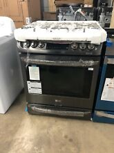 LG  Lsg4513bd   Self Cleaning Slide In Gas Range with ProBake Convection