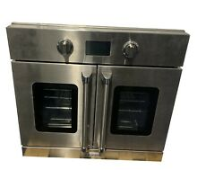 30  Stainless Steel Electric Single Wall Oven   Convection