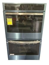 30  Stainless Steel Electric Double Wall Oven   Convection