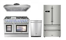 48  Gas Range Thor Kitchen 4 Piece Bundle