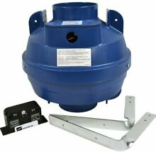 Suncourt Laundry Dryer Exhaust Booster Automatic Commercial Vent Kit 4 in DRY04