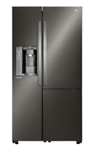 LG LSXS26386D 26 0 Cu  Ft  Black Stainless Steel Side Refrigerator Energy Star