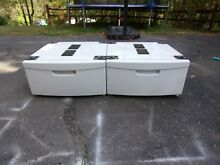Samsung White Pedestal WE357A0W XAA for Washer or Dryer WITH HARDWARE