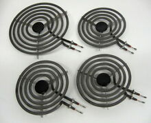 Range Burner Surface Element Unit Set Electric Stove Part 3pc MP15YA  1pc MP21YA