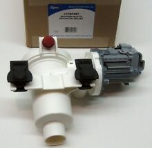 Kenmore Whirlpool Washer Water Valve Drain Pump Assembly 461970228512