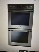LG STUDIO Easy Clean Self cleaning Convection Double Electric Wall Oven  Fingerp