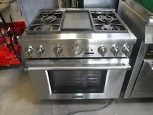 Thermador Pro Grand 36  Pro Style 4 Sealed Burners griddle all unit set propane